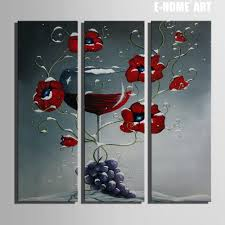 Home Decoration Painting by Online Get Cheap Wine Decor Aliexpress Com Alibaba Group