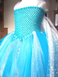 Handmade In Costume - disney frozen elsa snow handmade costume tutu dress and