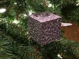 hallmark 2000 trek ornament borg cube a atheist