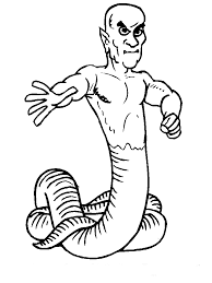coloring monster coloring pages 7