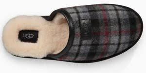 ugg sale paypal nib ugg scuff tartan plaid leather sheepwool slippers us