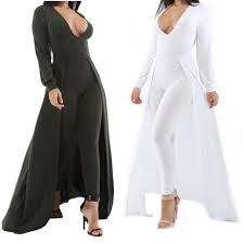dressy jumpsuits v neck bodycon rompers womens jumpsuits