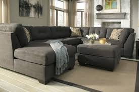 Sectional Sofa Throws Contemporary Grey Tufted Sectional Sofa With Chaise Back Cushion