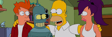 tv ratings the simpsons futurama crossover episode boosts ratings