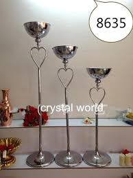 Silver Vase Wholesale Mental Tall Flower Stand Centerpieces Tall Floor Standing Vase