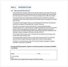 14 emergency plan templates free sample example format