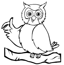 Wise Owl Coloring Animals Town Animals Color Sheet Owl Coloring Pages Owl