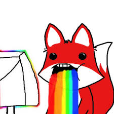 Puking Rainbow Meme - pyong meme puke rainbow by aureliomarcos on deviantart