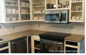 How To Paint Kitchen Cabinets  Part   Painting Sweet Tea Proper - Kitchen cabinet without doors
