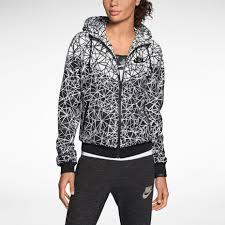 nike windrunner allover print women u0027s jacket nike store