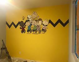 hand painted wall murals archives kids murals by dana charlie brown nursery wall murals