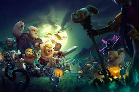 background video halloween clash of clan halloween clash of clans pinterest