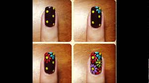 nail art designs step by step at home without tools youtube