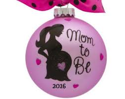 pregnancy ornament etsy