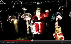 christmas light show toronto toronto christmas light display 2011 outside house near wilson