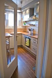 best ideas about small kitchen remodeling pinterest tiny kitchen renovation with faux painted brick backsplash