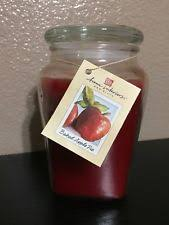 home interiors candles baked apple pie home interiors jars container candles ebay