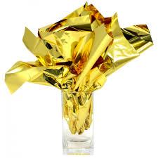 gold mylar tissue paper mylar tissue sheets gold pack of 3 50602 gd mardigrasoutlet