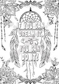 if you can dream it you can do it coloring page