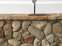 River Rock Bathroom Ideas Stack Natural Stone Fireplace Surrounds Ideas With Cesar Wood