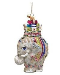 strongwater elephant on ornament lovely