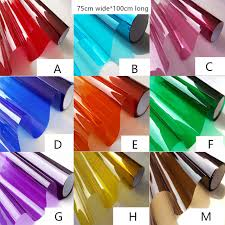 where to buy colored cellophane aliexpress buy 75cm wide 100cm stained glass window sticker