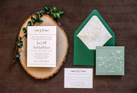 wedding invitations greenery custom wedding invitations plumegiant