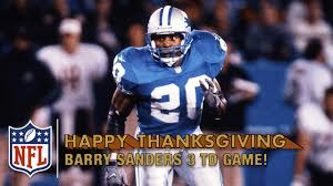barry sanders dominant 3 td vs bears 1997 nfl on