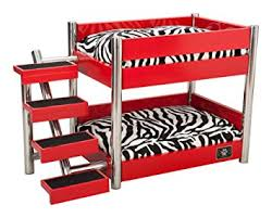 Doggie Bunk Beds Lazybonezz The Metropolitan Pet Bunk Bed Pet Supplies