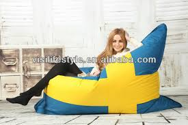 Huge Pillow Bed Fashionable Flag Giant Bean Bag Bed Big Pillow Outdoor Waterproof