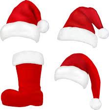 different christmas hat design elements vector set 07 vector