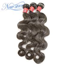human hair in salt and pepper middle aged and elderly women brazilian virgin gray hair 100