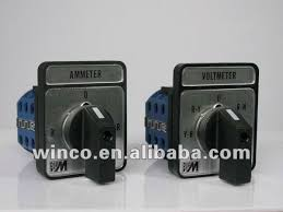 bigm ammeter voltmeter selector switch be 3a be 3v view ammeter