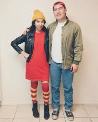 creative couples halloween costume ideas tj and spinelli halloween pinterest easy couples costumes