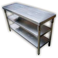 Stainless Steel Worktable With Undershelf    Tier Kitchentech - Commercial kitchen stainless steel tables