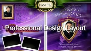 funeral program software pastor anniversary program dailymotion