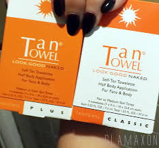 swatch test u2013 comparing new tantowel face tan to classic and plus