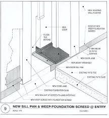 How To Replace Exterior Door Replacing Exterior Door Jamb And Threshold Door Sill Threshold