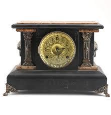 Linden Mantel Clock Late 19th Century Seth Thomas Adamantine Mantel Clock Ebth