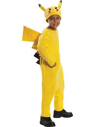 deluxe pikachu costume boys pokemon halloween costumes