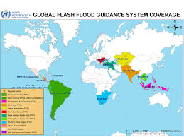 Map Of The Middle East And Asia by Flash Flood Guidance System Ffgs Wmo