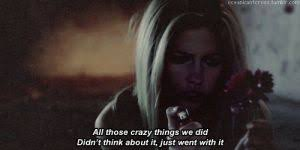 avril lavigne wish you were here gif find download on gifer