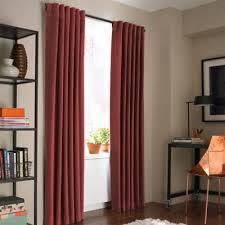 Deep Red Velvet Curtains Buy Velvet Curtains From Bed Bath U0026 Beyond