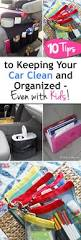10 tips to keeping your car clean and organized even with kids