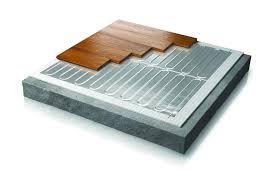 Radiant Floor Heating Under Laminate Warmup Foil Heaters Under Wood Laminate Vinyl U0026 Carpet