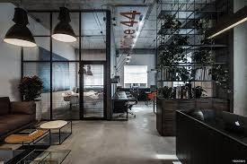 cool offices in industrial style decor advisor