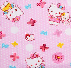 cute pink fabric kitty mum baby kitty