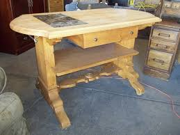 lexington knotty pine butcher block kitchen island 20033