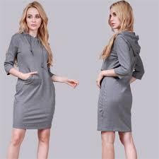 aliexpress com buy 2017 new autumn women u0027s hoodie dress bodycon