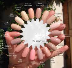 the beauty look book color focus pink for nails nails